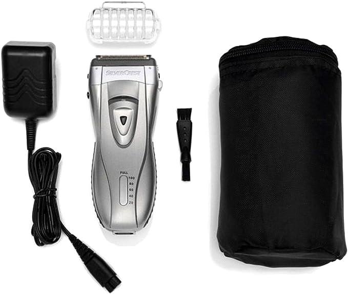 Silvercrest Cortabarbas Afeitadora SFR 1200 A1 Set Afeitadora de hombre Lámina afeitadora Barba: Amazon.es: Salud y ...