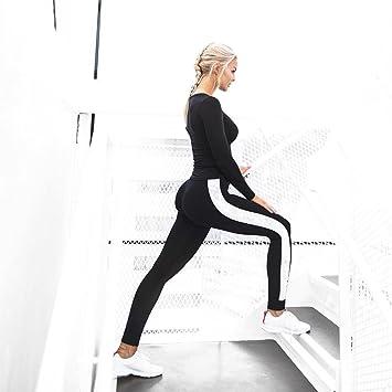 QINB Pantalones de Yoga Casual para Mujer Pantalones de ...