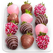 Golden State Fruit 12 Love Berries Valentine Chocolate Covered Strawberries