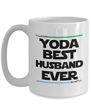Yoda Best Husband Birthday Gift Mug Nerd Star Wars Coffee Cup Lightsaber