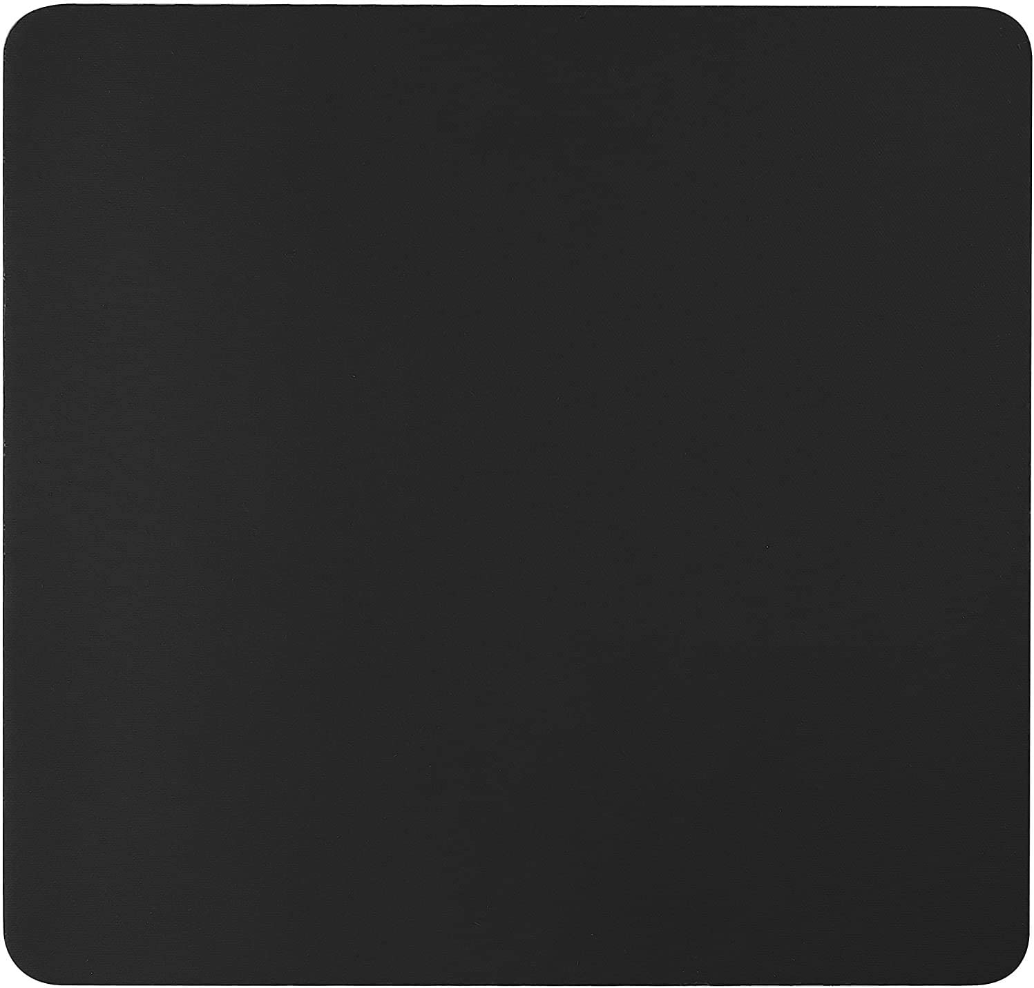 Quality Selection Comfortable Superb Mouse Pad for Home, Office & Gaming, Non-Slip Rubber Base Mousepad, Mouse Pads Compatible with Optical, Laser, Wired & Wireless Mouse for Computer & Laptop, Black