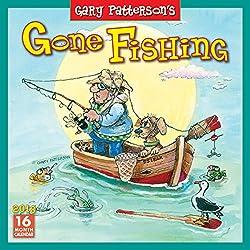 Gone Fishing, Gary Patterson's 2018 Wall Calendar (CA0136)