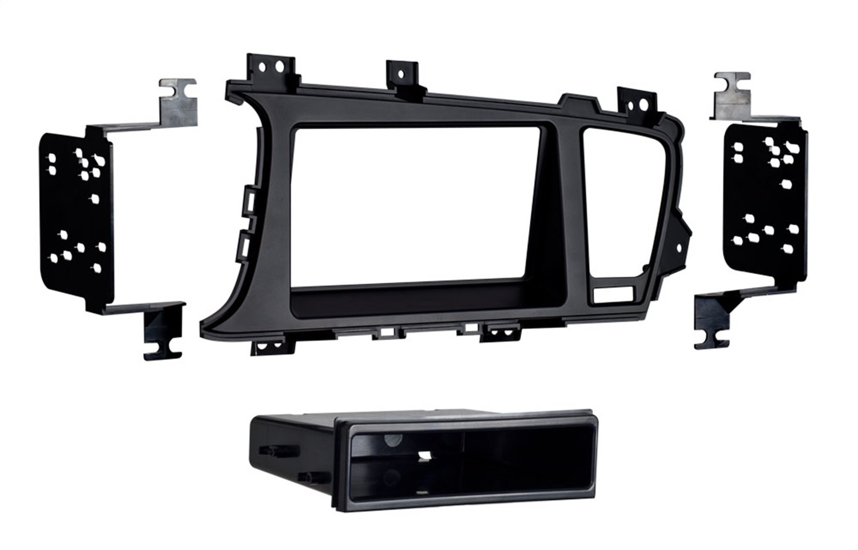Metra 99-7345B Kia Optima 2011-UP Single/Double DIN Dash Fitment Kit with Pocket