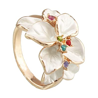 Multi color wedding rings