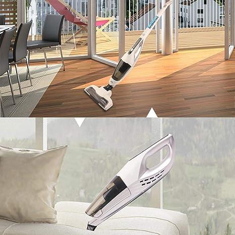 VIVICF Aspirador Vertical Sin Cable, Vertical Y De Mano 2 En 1 ...