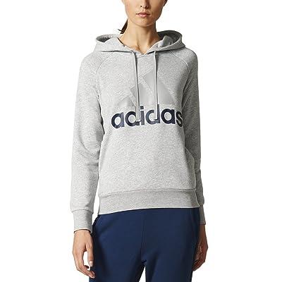Women's Essentials Linear Pullover Hoodie Grey