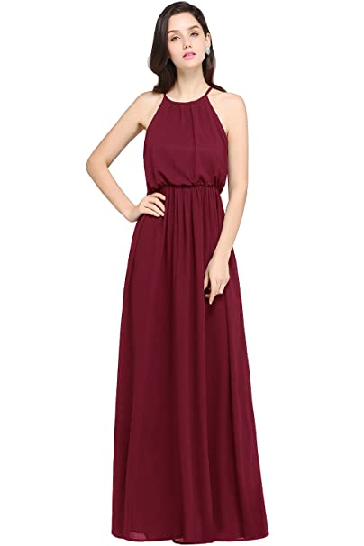 The 8 best burgundy bridesmaid dresses under 100