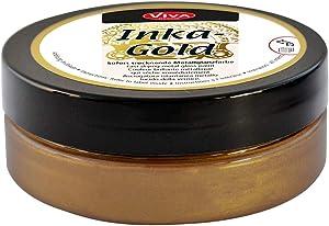Viva Decor Inka Gold Paint, 62.5gm, Brown Gold