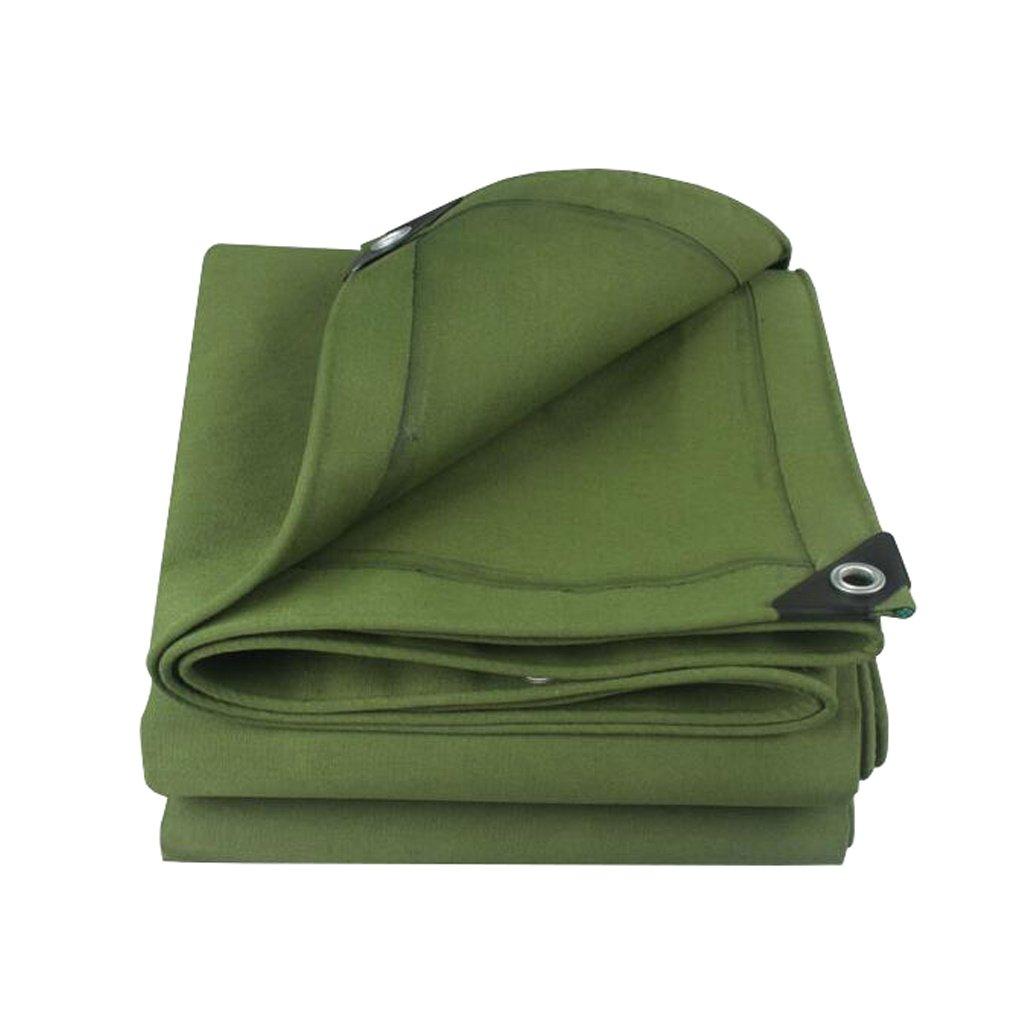 LIYin Tarps Heavy Duty wasserdicht grün Plane Ground Sheet Covers für Camping, Angeln, Gartenarbeit & Haustiere, große Plane in mehreren Größen - dick wasserdicht, UV-Besteändig, rot und reißfest mit Ö