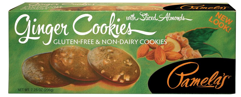 Pamela's Products Gluten Free Cookies, Ginger