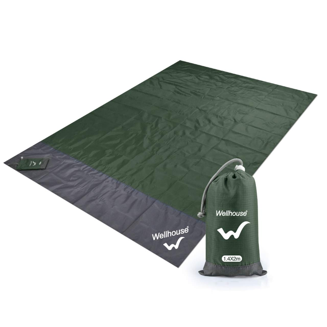 ASIERY Thicken Portable Moisture-Proof Floor mat Picnic mat Waterproof and Heat Insulation (Color : G, Size : 140200CM) by ASIERY