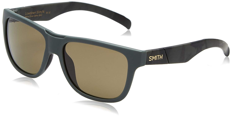 c6b2218fddf1 Amazon.com  Smith Guide s Choice Sunglasses Matte Black with ChromaPop  Polarized Gray Green Lens  Clothing