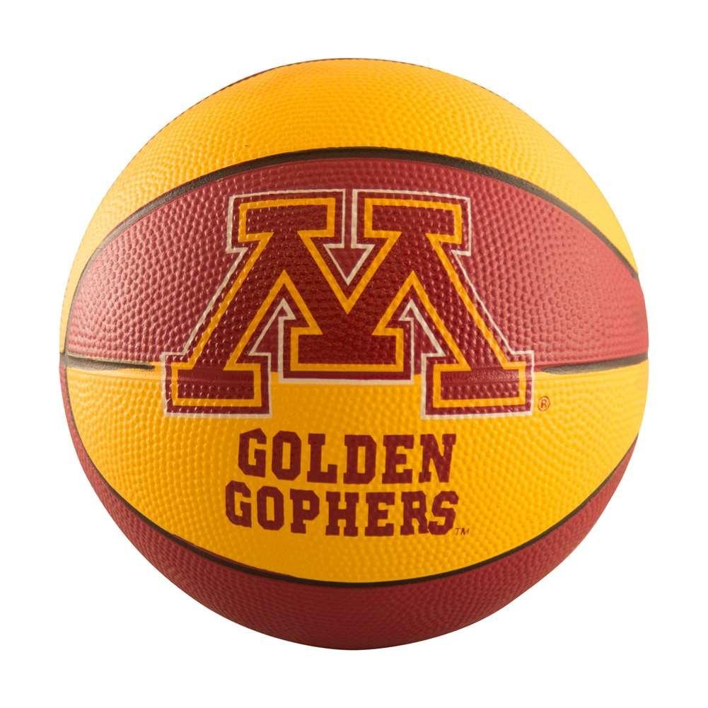 NCAA Minnesota Golden Gophers Miniサイズゴムバスケットボール、ブラウン B0015396BU