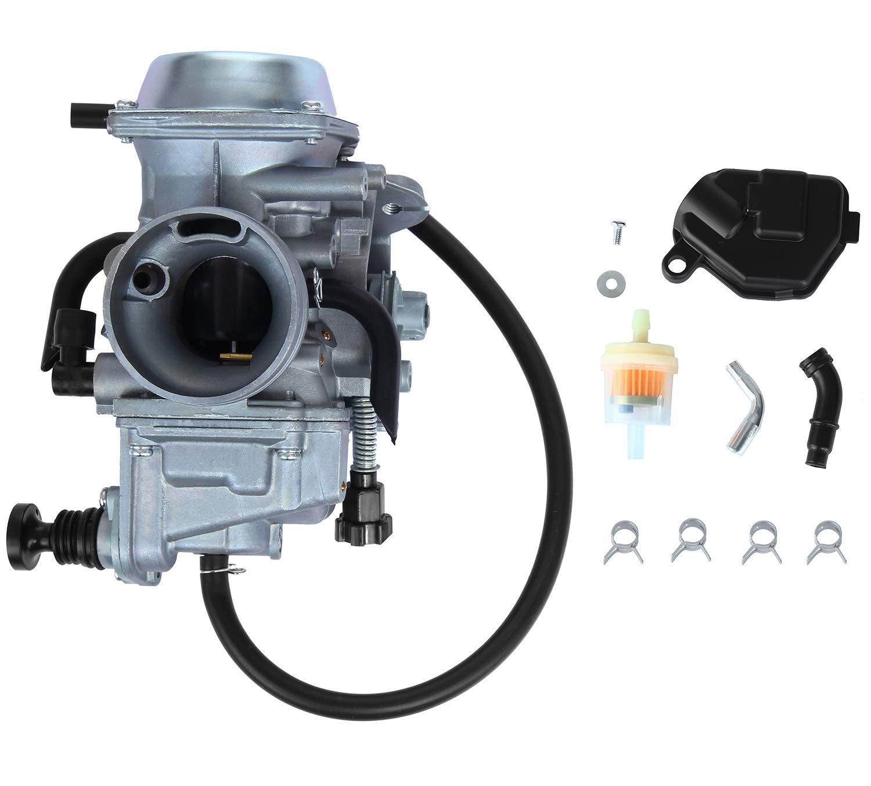 ATRACYPART Carburetor Carb - for 2000-2006 Honda Rancher 350 TRX350 TRX350FE/FM/TE/TM - 2002 2003 2004 Foreman TRX450FE/FM 1997-2004 TRX400FW by ATRACYPART