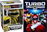 lego animated robots - Yellow Power Ranger + Turbo: A Power Rangers Movie DVD Pop Figure Pack