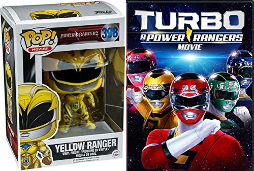 Yellow Power Ranger + Turbo: A Power Rangers Movie DVD Pop Figure Pack