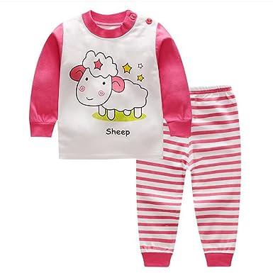 Bambini Pigiama Biancheria da Notte 2 Pezzi Parte Superiore Pantaloni 9-16