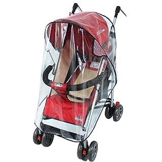 niceEshop(TM) Clear Waterproof Rain Cover Wind Shield for Baby Strollers Carrier 6025779310949
