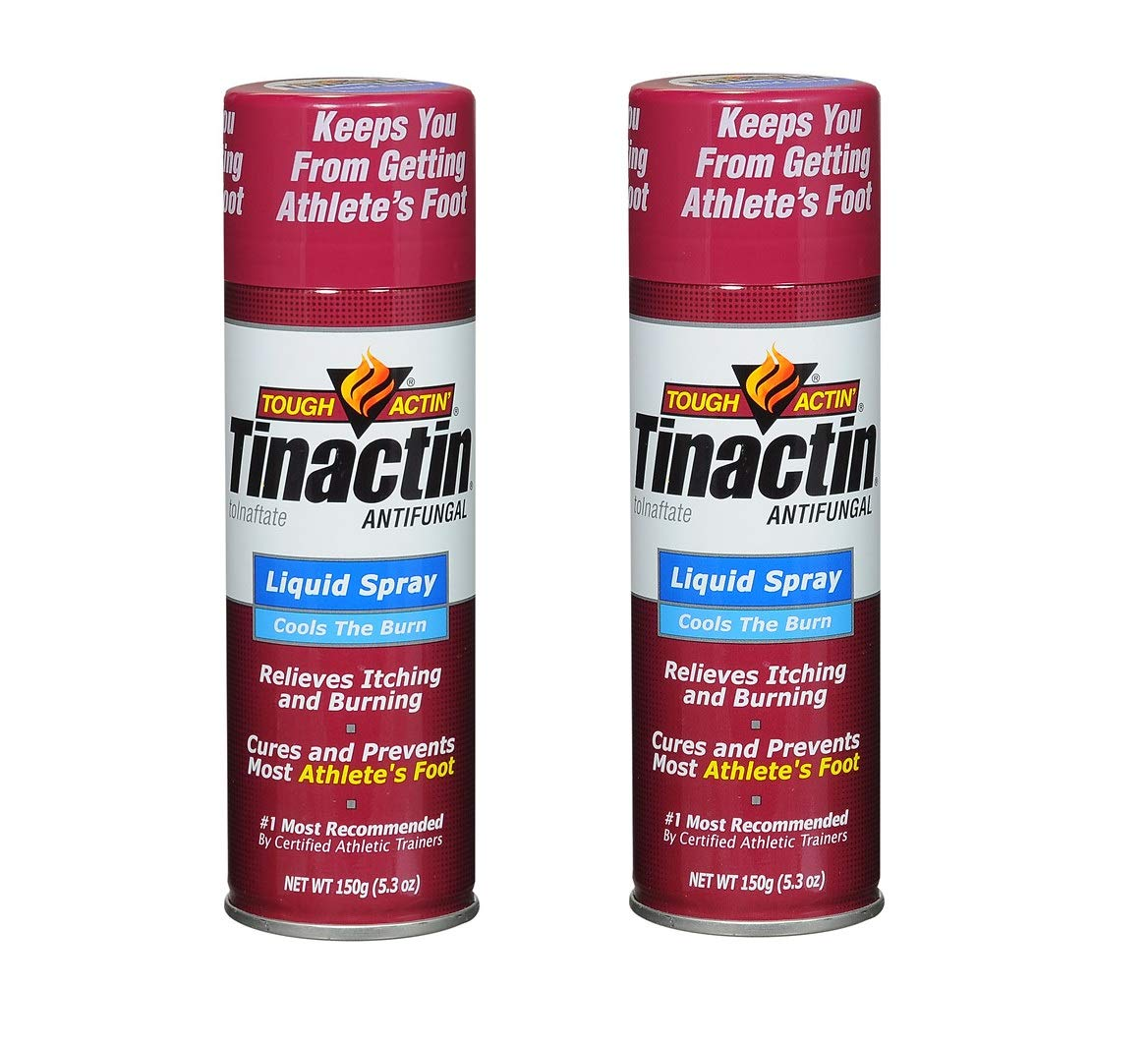 Tinactin Antifungal Liquid Spray 5.3 Oz (2 Pck)