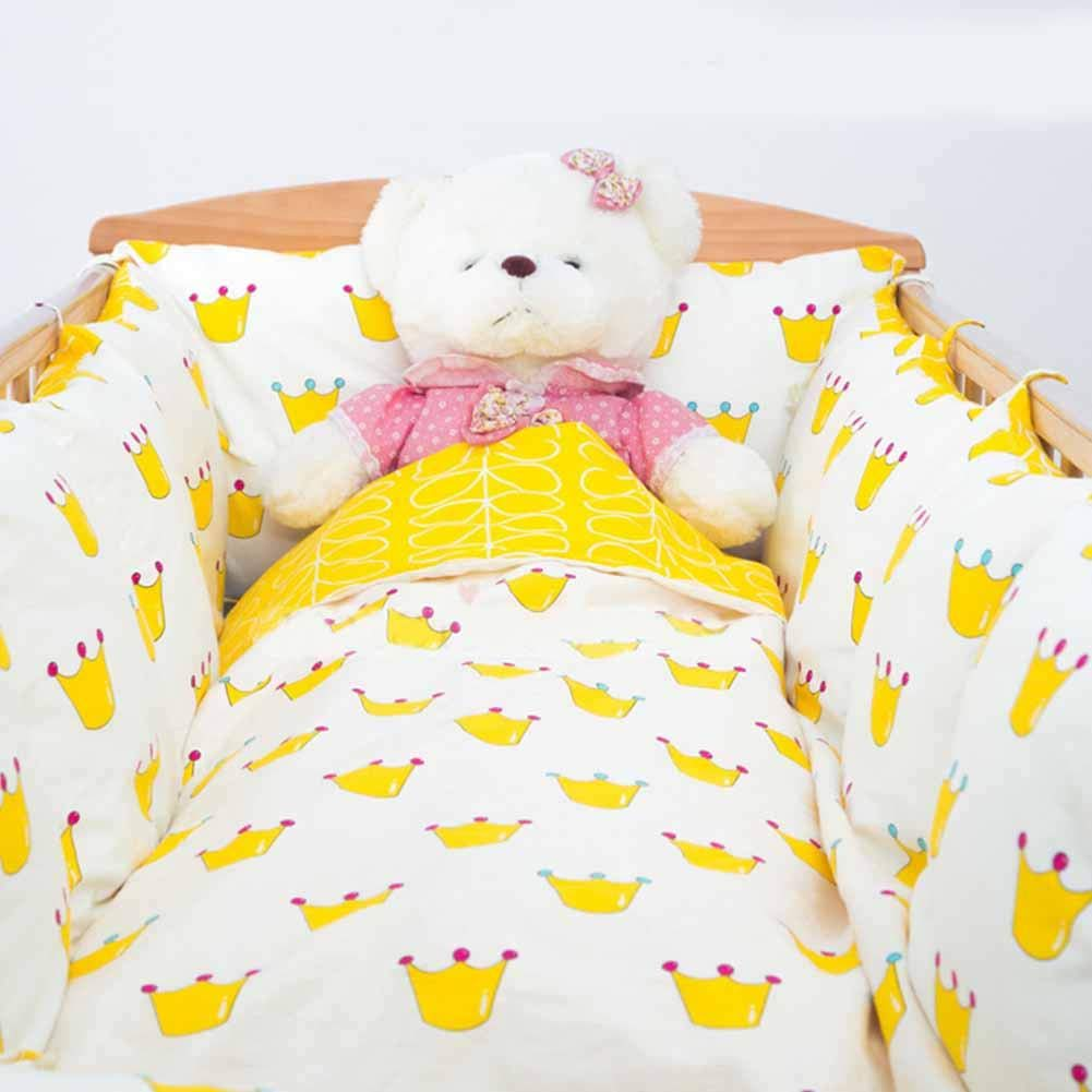 Babys Comfort All-Round Bumper Long Knot Pillow Cushion Nursery Bedding Safety Fence Stroller