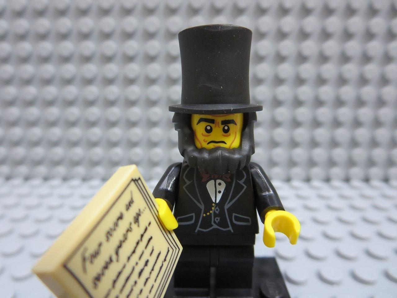 レゴ ミニフィグ【THE LEGO MOVIE】 Abraham Lincoln   B00SFPNOGY