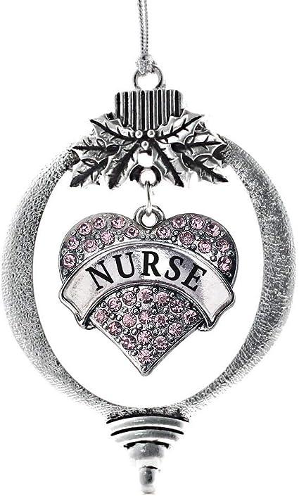 Inspired Silver - Nurse Charm Ornament
