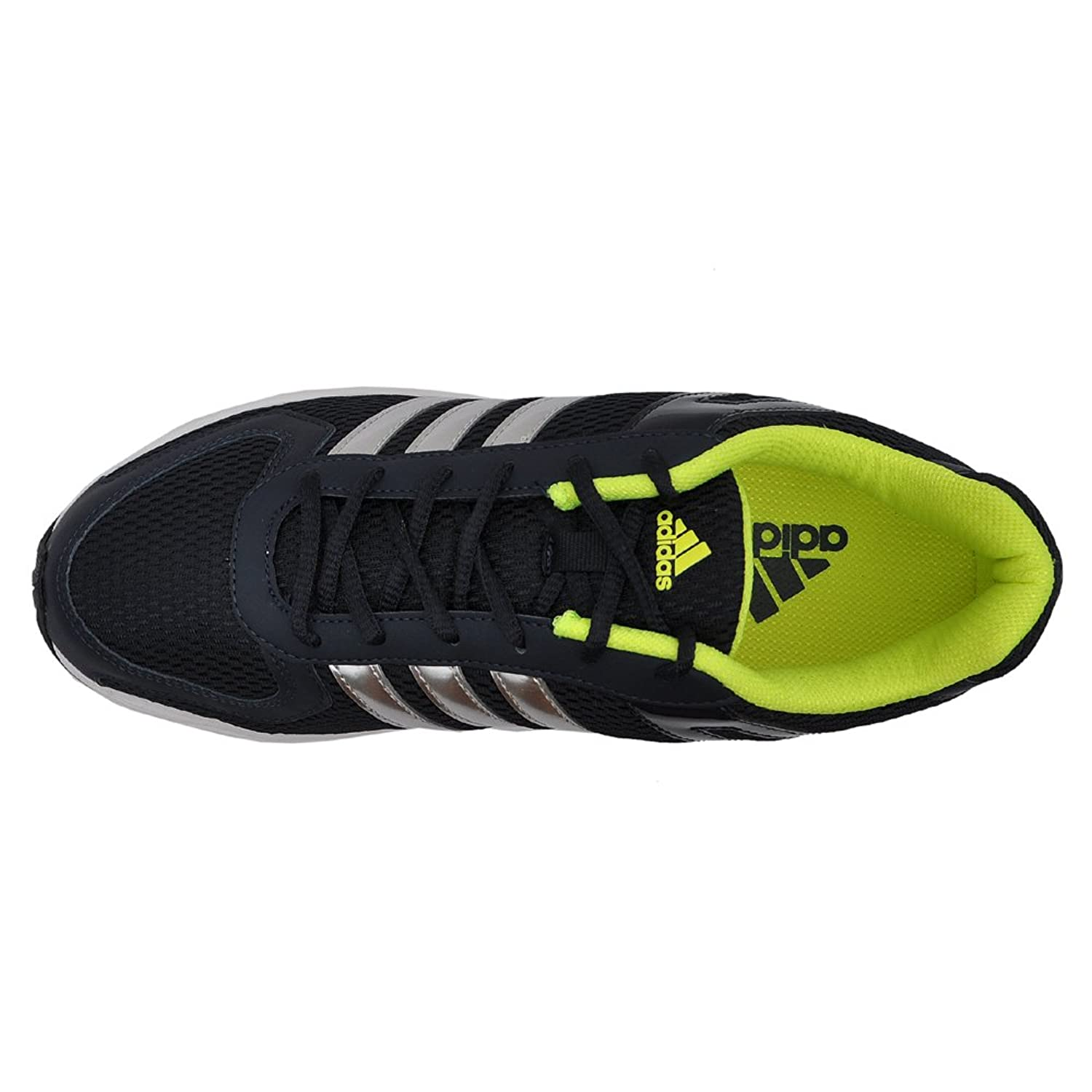 Adidas Men's Galba Black and Metallic Silver Running Shoes - 10 UK: Buy  Online at Low Prices in India - Amazon.in