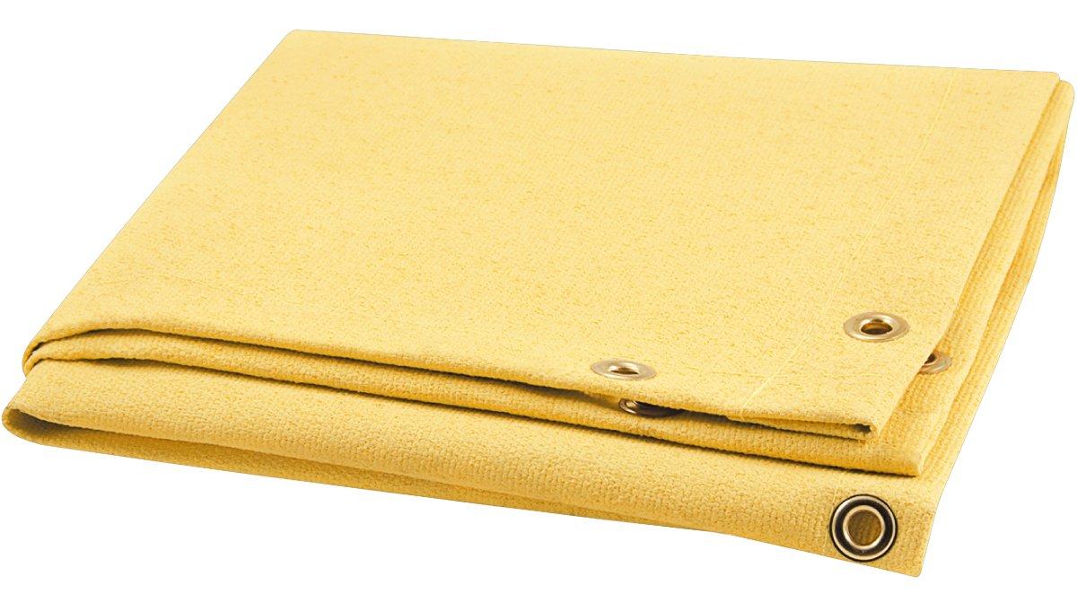 Steiner 374-10X10 Golden Glass 28-Ounce Acrylic Coated Fiberglass Welding Blanket 10 x 10 10/' x 10/' ERB Gold