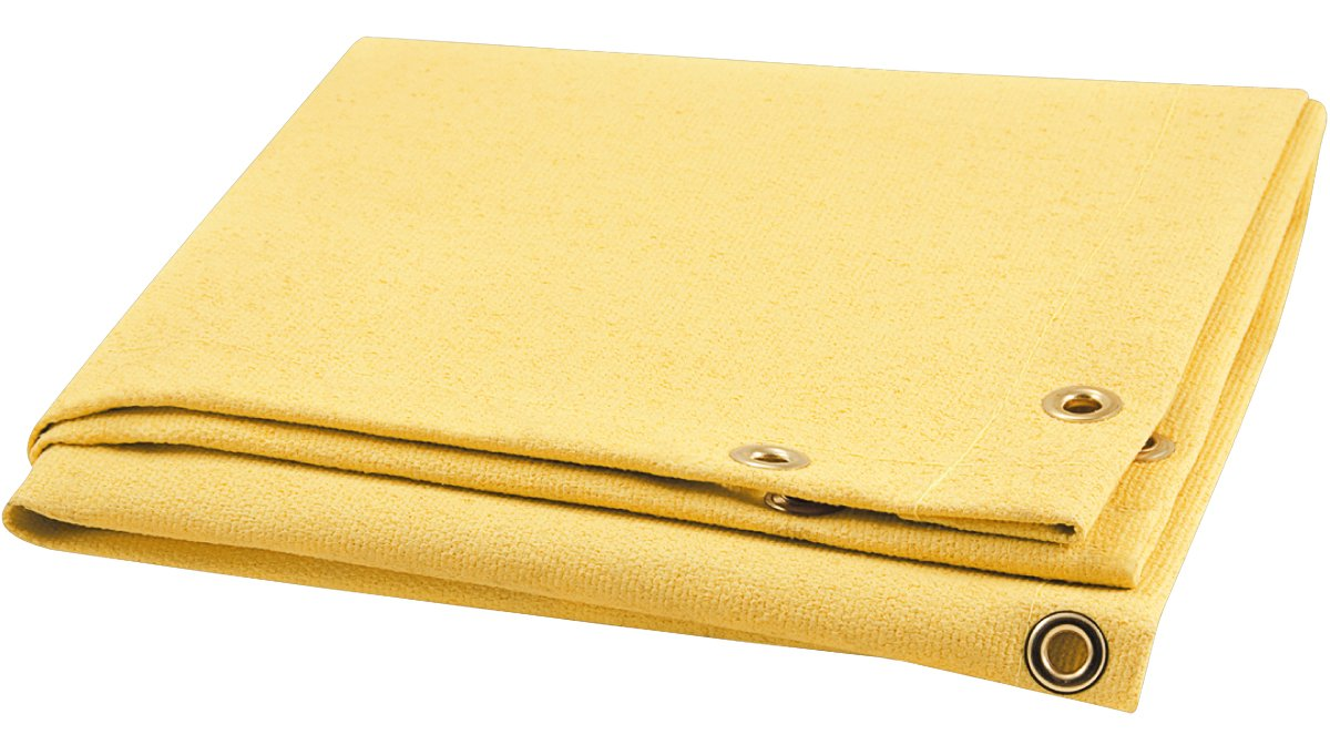 Steiner 374-3X4 Golden Glass 28-Ounce Acrylic Coated Fiberglass Welding Blanket, Gold, 3' x 4' by Steiner
