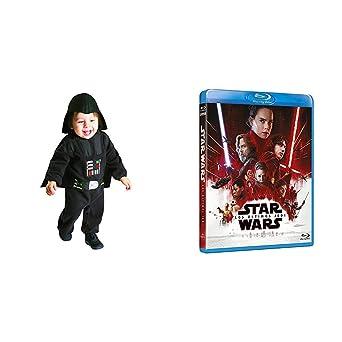 The Last Jedi Blu-Ray + DISFRAZ DARTH VADER PRESCHOOL: Amazon.es ...