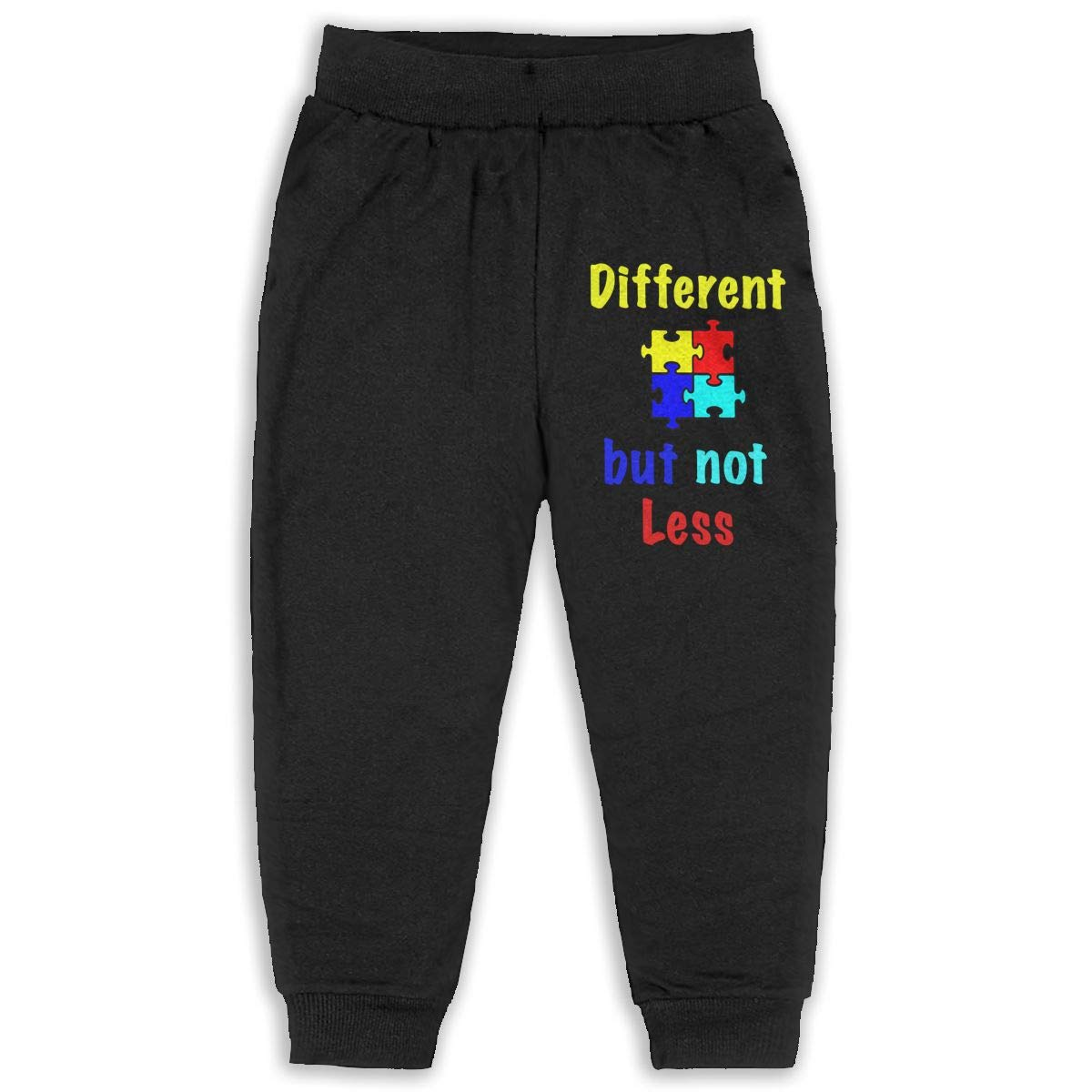 Autism Different.but Not Less Unisex Kid Toddler Sweatpants Soft Cozy Girls Boys Jogger Play Pant