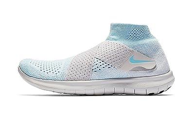 Nike W Free RN Motion Flyknit 2017 [880846-402] Women Running Shoes Glacier Blue