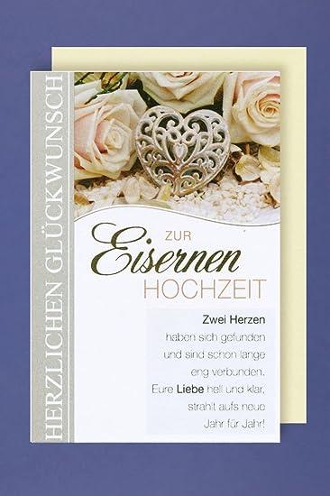 65 Hochzeitstag Eiserne Hochzeit