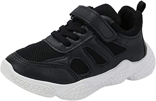 DDKK Kids Sneakers Sport Running Shoes Baby Girls Boys Mesh Soft Anti-Slip Shoes Patchwork Children 3-10 Y