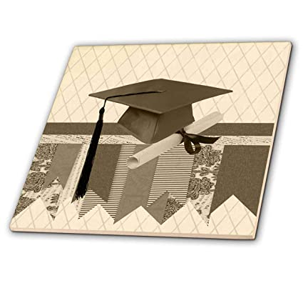 8402a9c314573 Amazon.com: 3dRose Beverly Turner Graduation Design - Graduation Cap ...
