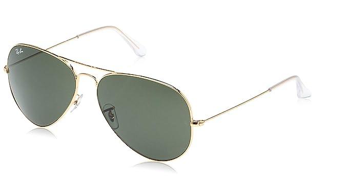 RAY-BAN RB 3025 Gafas de sol, Gold, 62 para Hombre
