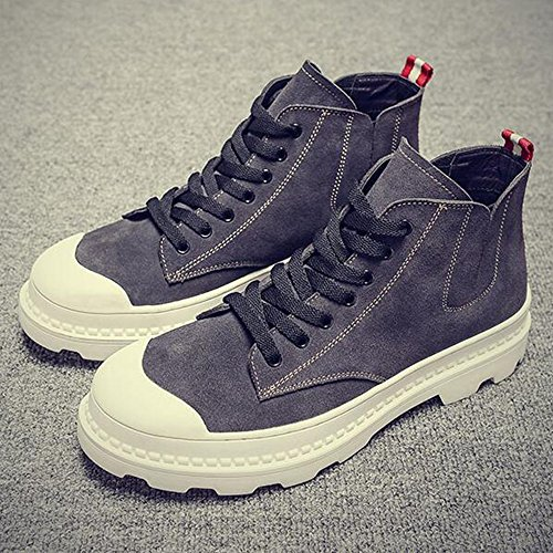 EU40 Feifei Men's Keep Size Warm Color Shoes Gray Shoes UK7 Winter CN41 Help Colours 2 Plate High Movement ff5rZqw