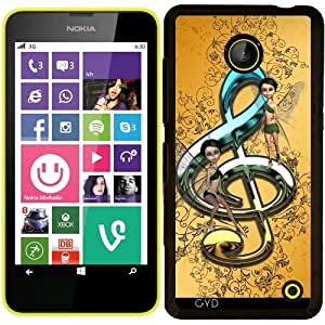 Funda para Nokia Lumia 630 - Hermosa, Clave Decorativa by nicky2342