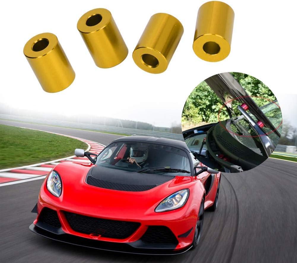 argent support de ventilation dentretoise de capot de moteur dalliage daluminium de voiture pour le moteur de 6mm Aramox Entretoise