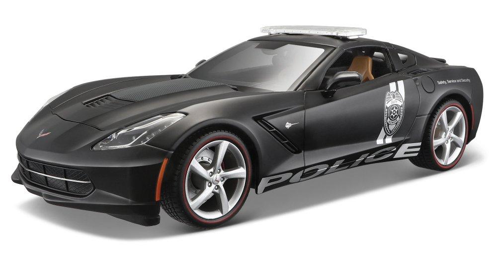 2014 Corvette Stingris [Maisto 36212], Police, 1:18 Die Cast