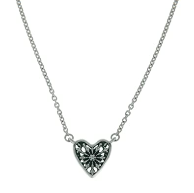 Pandora Women Silver Pendant Necklace - 396370CZ-45 rw8qzGafjN
