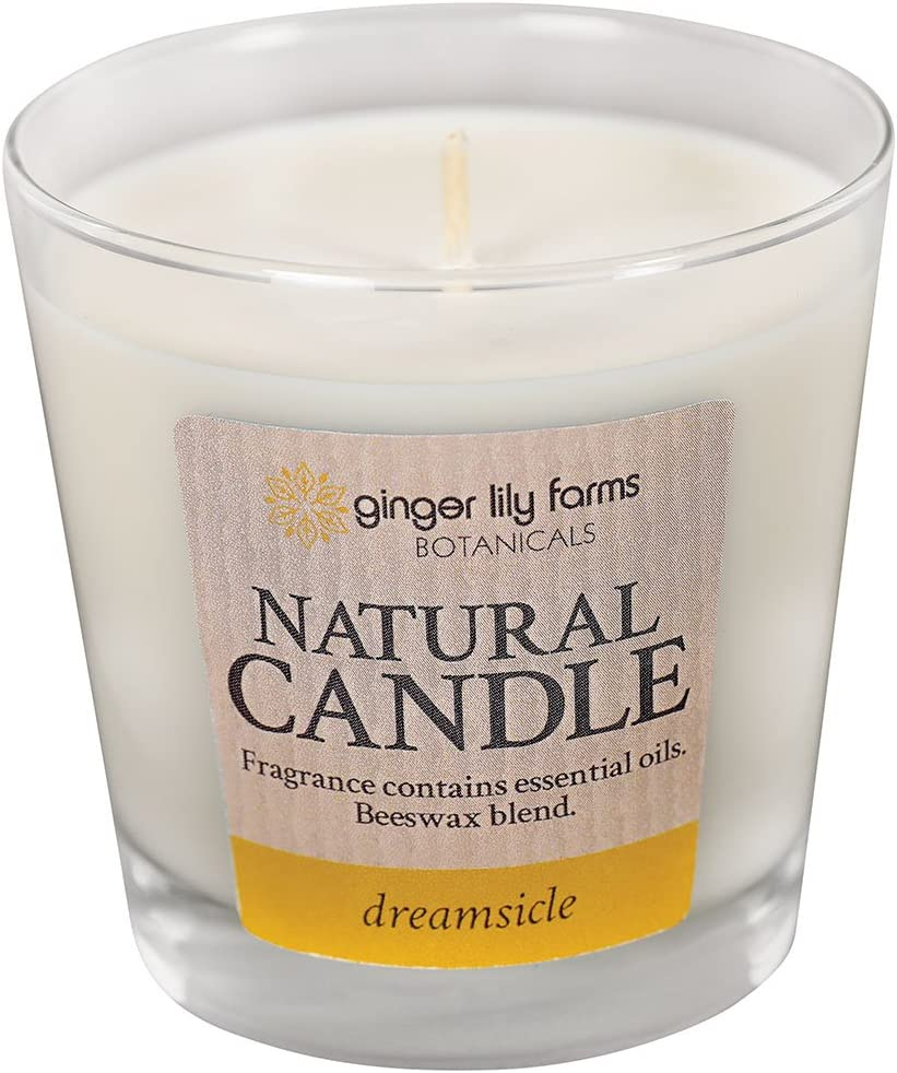 Milk /& Honey Ginger Lily Farms Botanicals 308893 Natural Candle Dreamsicle
