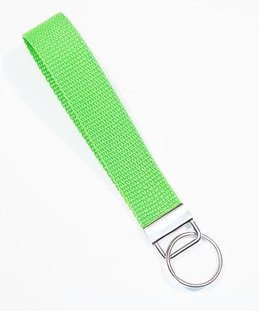 Free Charm Limes Lime Wristlet Lime Keychain Lime Key FOB Grosgrain Ribbon