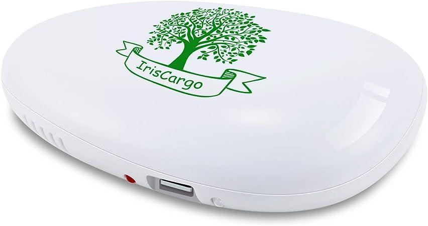 Iris Cargo Deodorant Caja de Ozono purificador de aire Mini presupuesto limpiador Ozono purificador de aire ...