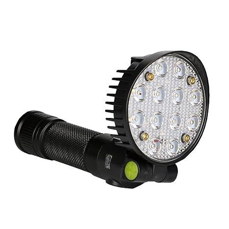 jimmkey LED luz de trabajo cierre magnético linterna con gancho plegable linterna, sensor luz para armario, ...