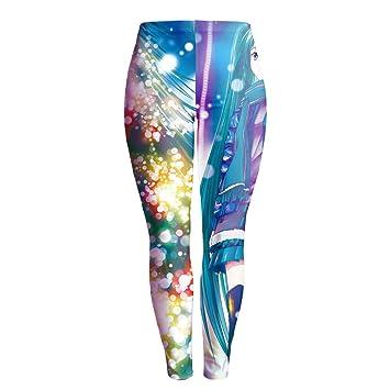 Pantalones De Yoga,Imprime Personalidad Cartoon Chica ...