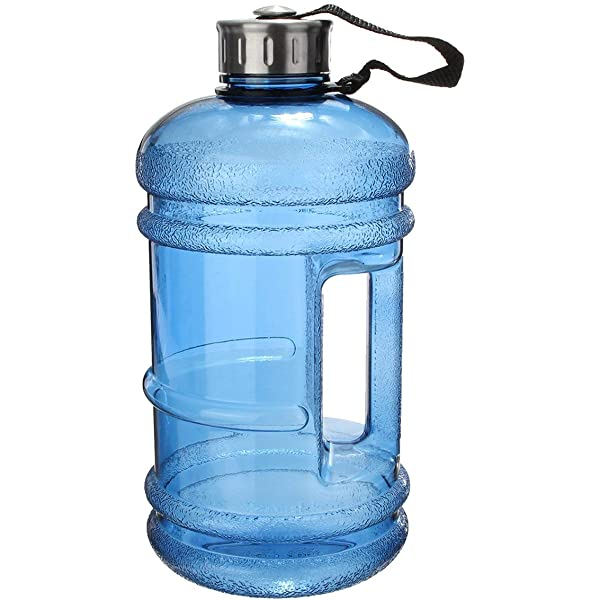 Outdoor 1.5L Big BPA Free Sport Gym Training Large Drink Water Bottle Cap Kettle