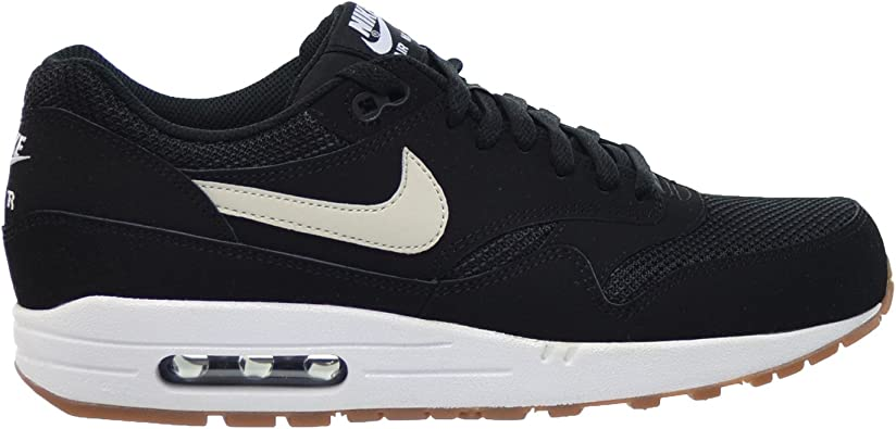 tifón recompensa Brisa  Amazon.com: Nike Air Max 1 Essential Hombre Zapatos Black/Light bone-white  537383 – 026, negro, 13 D(M) US: Shoes
