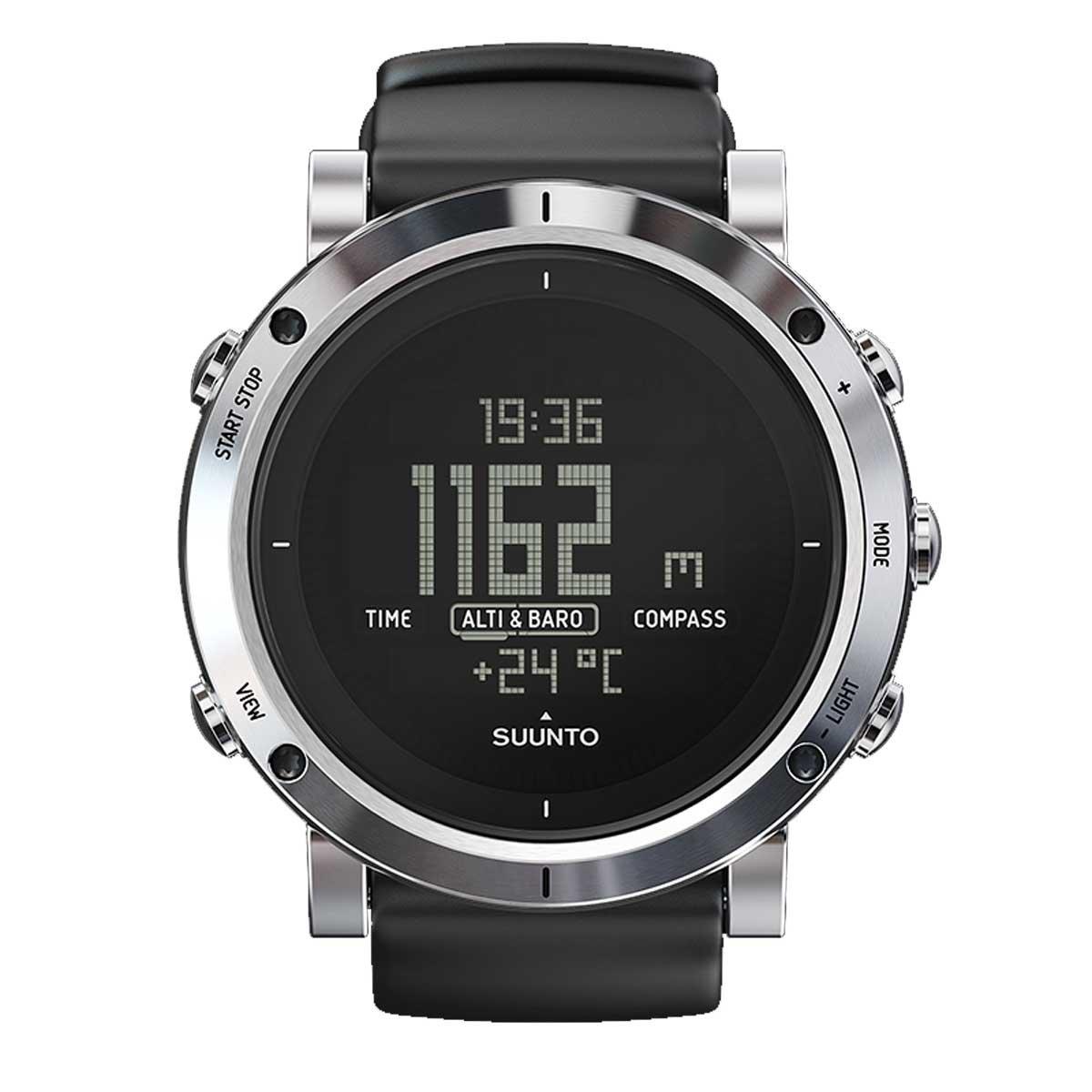 Suunto Core Brushed Steel Sport Watch B01MUAKLN6ブラッシュドスティール(Brushed Steel)