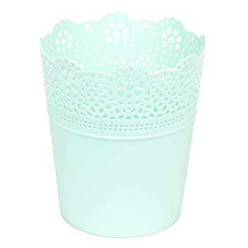 Mintgrün 2,8 - 4,0 Liter Blumentopf Ø 18 cm Übertopf 21 cm hoch ...